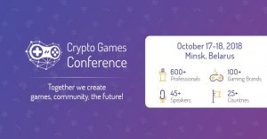 Crypto Games Conference @ Marriott Hotel | Минск | Беларусь